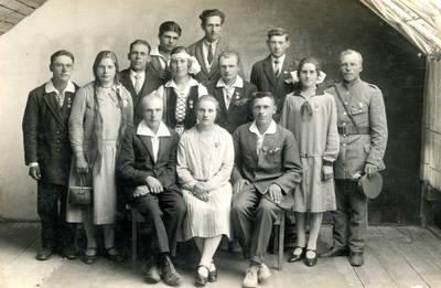 Juozas Daubaras. Fotografija 21201. 1930