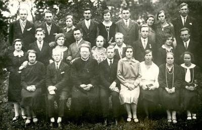 Juozas Karazija. Fotografija 21217. 1928