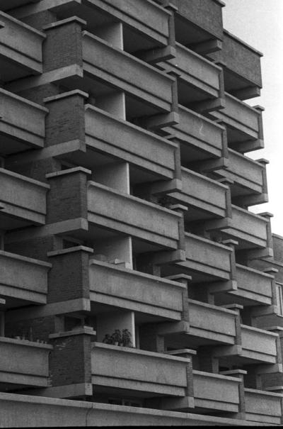 Klaipėda. Pastato Danės g. 9 fragmentas / Bernardas Aleknavičius