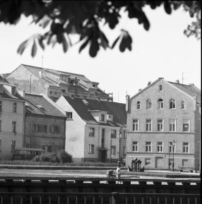 Klaipėda. Klaipėdos senamiesčio fragmentas / Bernardas Aleknavičius