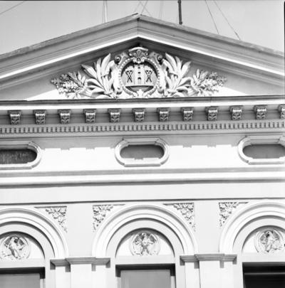 Klaipėda. Pastato Danės g. 17 fragmentas / Bernardas Aleknavičius