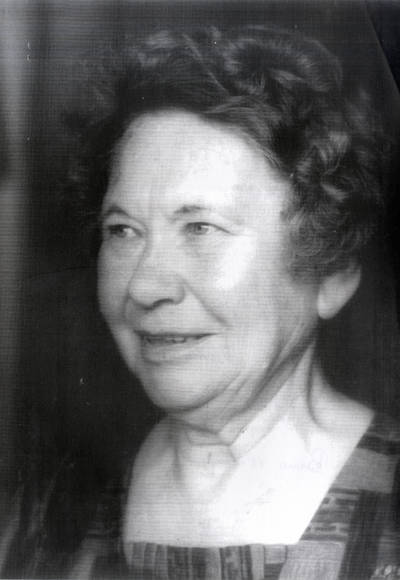 Mokytoja, skautų organizatorė Ona Zemturytė-Jarienė. Portretinė nuotrauka / Bernardas Aleknavičius