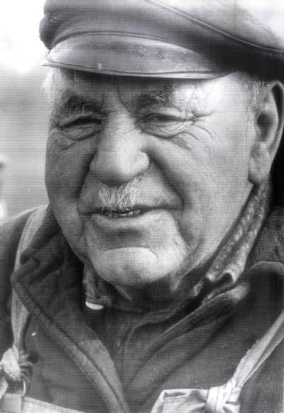 Žvejas Erčius Jurgenaitis. Portretinė nuotrauka / Bernardas Aleknavičius. - 1979