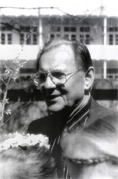 Anskis Reisgys. Portretinė nuotrauka / Bernardas Aleknavičius. - 1992