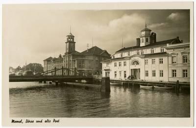 Memel, Börse und alte Post. - 19?