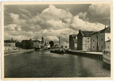 Memel - Die Dange / Fotografie Fritz Krauskopf. - 19?