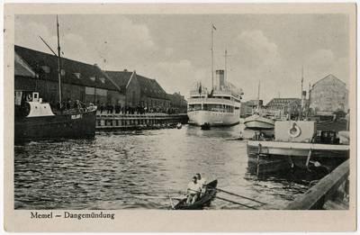 Memel - Dangemündung / Photographie A. Hennig. - 19?
