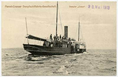 Memel - Cranzer Dampfschiffahrts-Gesellschaft. - 19?