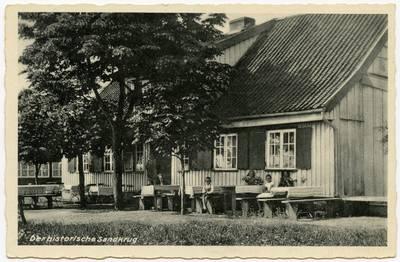 Der historische Sandkrug. - 19?