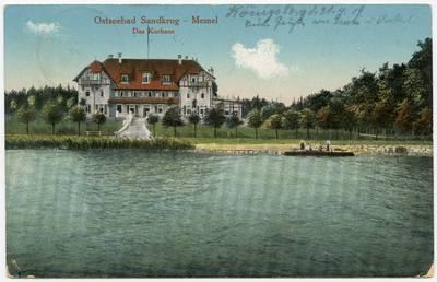 Ostseebad Sandkrug - Memel. - 19?