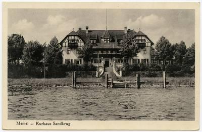 Memel - Kurhaus Sandkrug / Photographie A. Hennig. - 19?