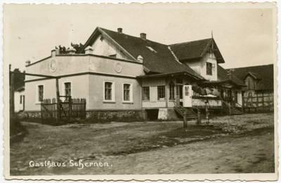 Gasthaus Schernen / Kunstatelier O. Lehmann. - 19?