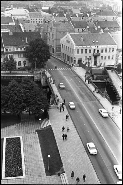 [Klaipėdos senamiesčio ir Biržos tilto panorama] / Audronius Ulozevičius. - 1979