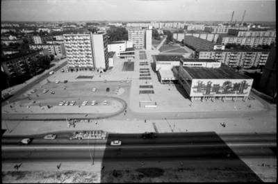 [Kauno gyvenamojo rajono panorama iš pastato