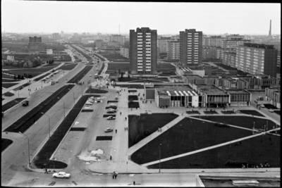 [Taikos prospekto panorama. Klaipėda] / Audronius Ulozevičius. - 1983
