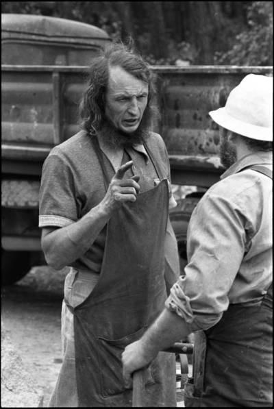 [Skulptoriai Algirdas Bosas ir Juozas Genevičius. Skulptorių simpoziumas Smiltynėje] / Audronius Ulozevičius. - 1979