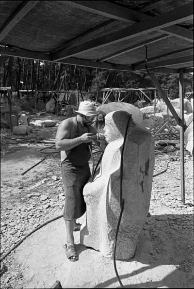 [Skulptorius Juozas Genevičius. Skulptorių simpoziumas Smiltynėje] / Audronius Ulozevičius. - 1979