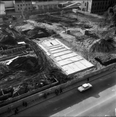 [Tarybų (dab. Atgimimo) aikštės panorama 1975 m. Klaipėda] / Bernardas Aleknavičius. - 1975.X.13