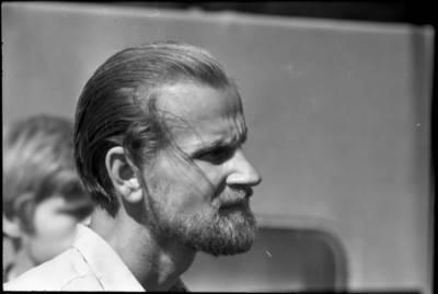 [Tautodailininkas Eduardas Jonušas Vanaguose] / Bernardas Aleknavičius. - 1966.VIII.3