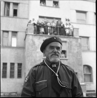 [Skautų vadas Pijus Ambrozaitis 1989 m.] / Bernardas Aleknavičius. - 1989