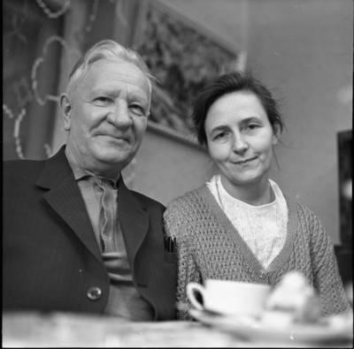 [Profesorius Pranas Norkūnas ir gydytoja chirurgė Ona Barisaitė 1977 m.] / Bernardas Aleknavičius. - 1977.III.20