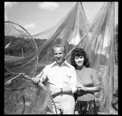 [Maestro Arvydas Paltinas su žmona dainininke Nele Paltiniene Juodkrantėje] / Bernardas Aleknavičius. - 1977