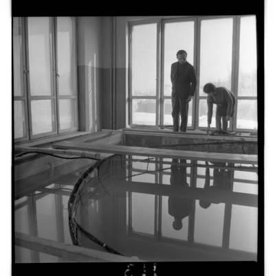 [Klaipėdos probleminės jūrų elektrinės žūklės laboratorijos baseinas] / Bernardas Aleknavičius. - 1970