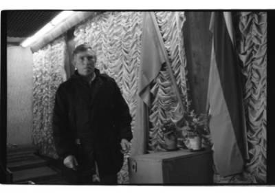 """[""""Baltijos"""" laivų statyklos 19-ojo cecho meistras Algimantas Čeponis. Prorusiškų organizacijų organizuotas referendumas dėl Lietuvos pasilikimo Sovietų sąjungos sudėtyje] / Bernardas Aleknavičius. - 1991"""