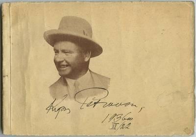 Kipro Petrausko 25 metų scenos darbuotės albomas, 1911-1936 / redagavo Jonas Gobužys, Petras Žvangutis, Kostas Radziulis. - 1936