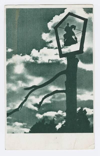 Senieji Lietuvos atvirukai ir fotografijos. Įvairūs atvirukai. ... mūsų skautų stovykloje vyčių sambury Švedijoje 1935 m. - 1938