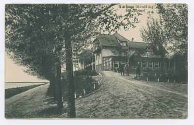 Senieji Lietuvos atvirukai ir fotografijos. Klaipėdos kraštas. Kurhaus Sandkrug bei Memel. - 1919