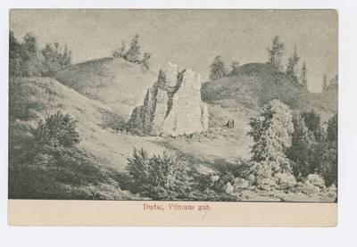 Senieji Lietuvos atvirukai ir fotografijos. Vilnius ir jo apylinkės. Dudai, Vilniaus gub. / [dailininkas Napoleonas Orda]. - 1906