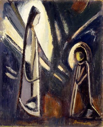 Pranas Domšaitis. Apreiškimas. 1962