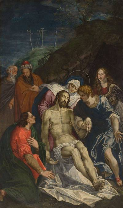 Nežinomas flamandų XVI a. pab. – XVII a. pr. dailininkas. Apraudojimas. 1625