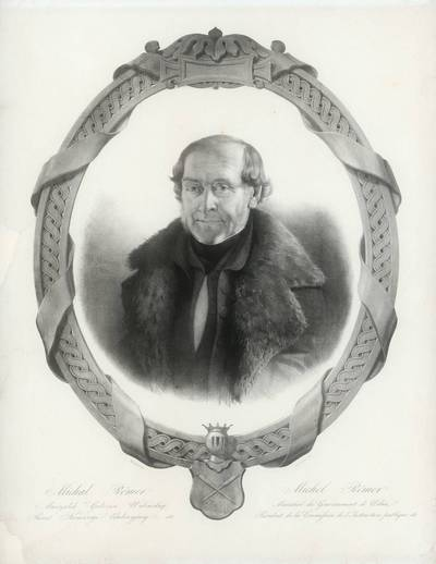 Ogiustas Marminia. Vilniaus gubernijos bajorų maršalka Mykolas Riomeris. 1860
