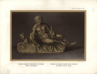 Žeenas. Bronzinė figūra, rasta Vilniaus pilies griuvėsiuose. 1875