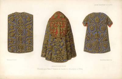 Francas Kelerhovenas. Bažnytiniai rūbai. 1850