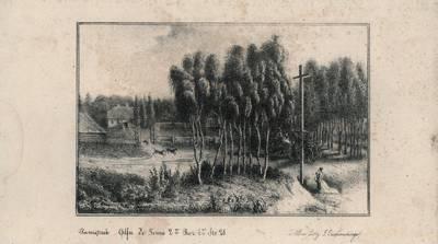 Juozapas Ozemblovskis. Prie kryžiaus. 1843