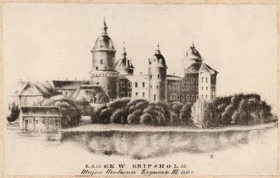 Juozapas Ozemblovskis. Gripsholmo pilis Švedijoje. 1846
