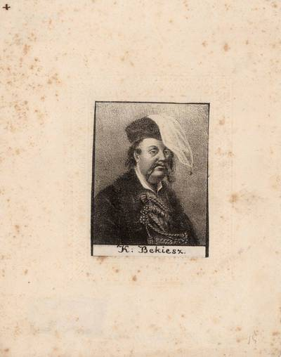 Juozapas Ozemblovskis. Kasparas Bekešas. 1875