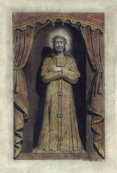 Juozapas Ozemblovskis. Antakalnio Jėzus. 1875