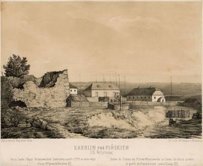 Napoleonas Orda. Karolinas ties Pinsku. 1900