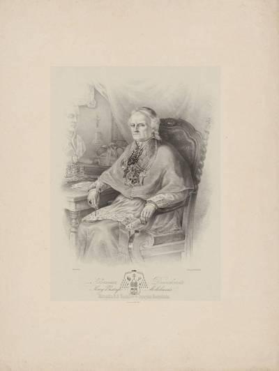 Boleslovas Mykolas Ruseckas. Arkivyskupo Kazimiero Dmachausko portretas. 1875