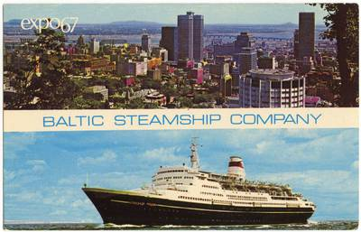 Nežinomas fotografas. Baltic Steamship Company. 1970