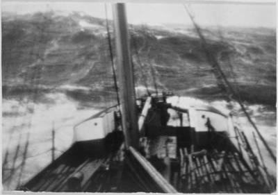 """Garlaivis """"Kurland"""" Šiaurės jūroje. 1930"""