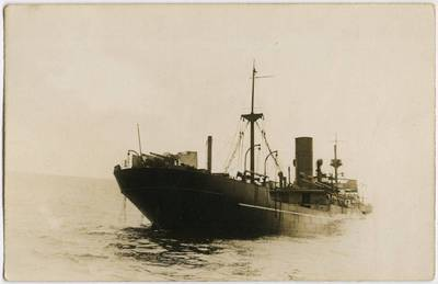 Nežinomas fotografas. Garlaivis. 1918