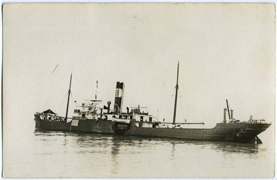 """Nežinomas fotografas. Graikijos garlaivis """"Istros"""". 1918"""