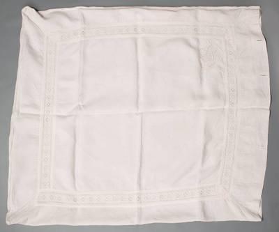 Borisevičiūtė. Užvalkalas pagalvei su monograma. 1940