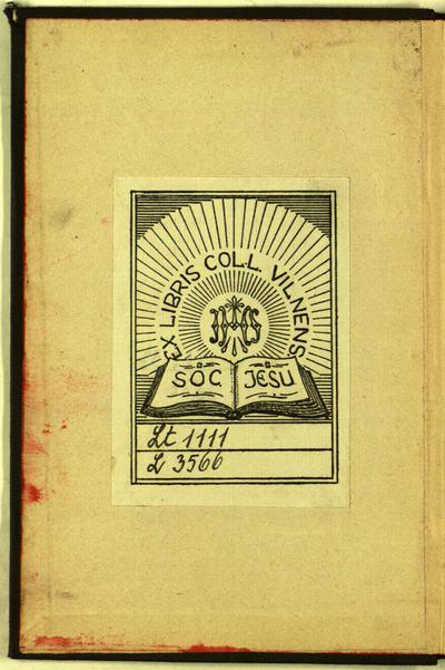Universitas linguarum Litvaniae / denuo edidit indicem verborum adiecit Ioannes Rozwadowski. - 1896. - [2], II, 81, [1] p.