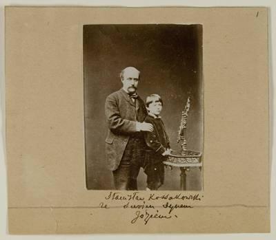 Kosakovskių šeimos archyvas. 7 : Ikonografija. - 1790-[1919]. 1565 : [Stanislovas Kazimieras Kosakovskis su vaikais. - 190-